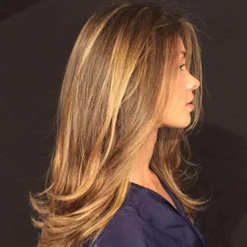 Chunky Honey Brown Highlights