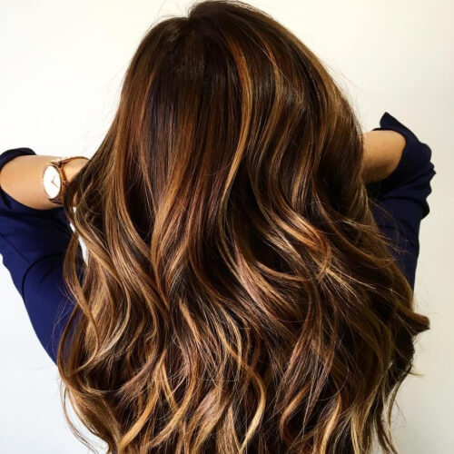 Dark Honey Brown Hair