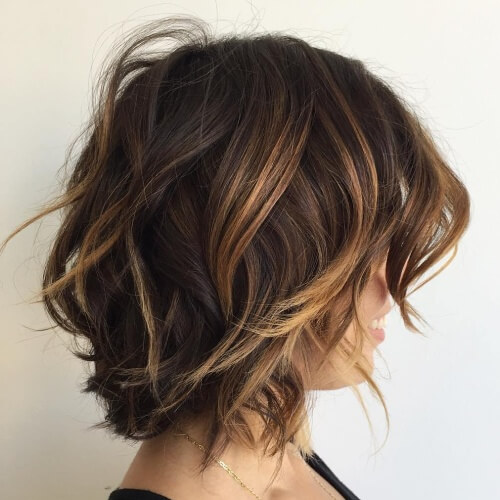 Honey Brown Bob Hairstyle