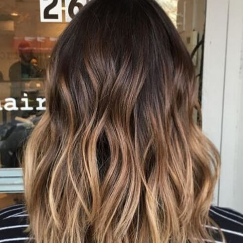 Honey Brown Hair Ombre
