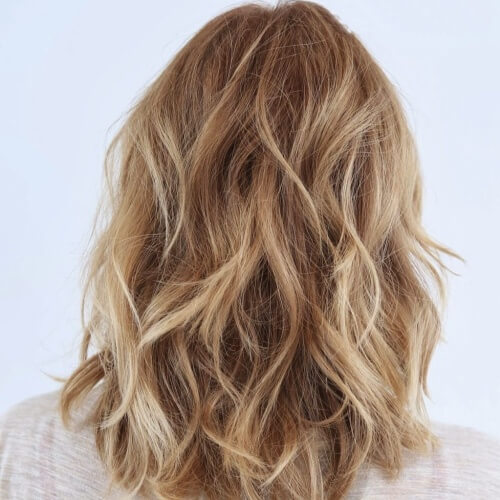 Light Honey Brown Hairstyle