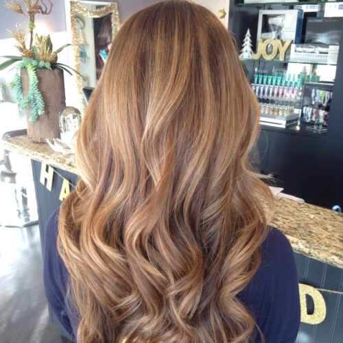 Medium Honey Brown Hair
