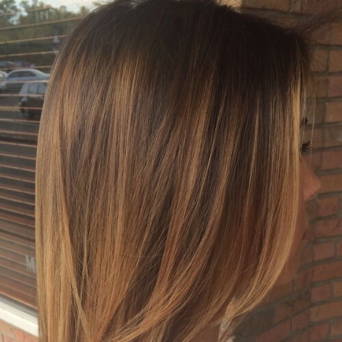 Natural Honey Brown Hair