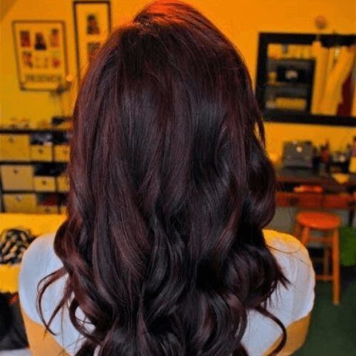 Black Cherry Hair Balayage