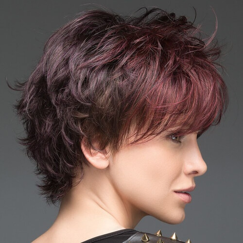 Black Cherry Hair Bangs