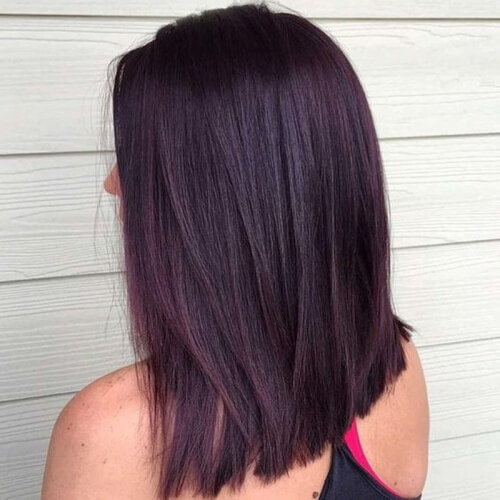 Classic Black Cherry Hair
