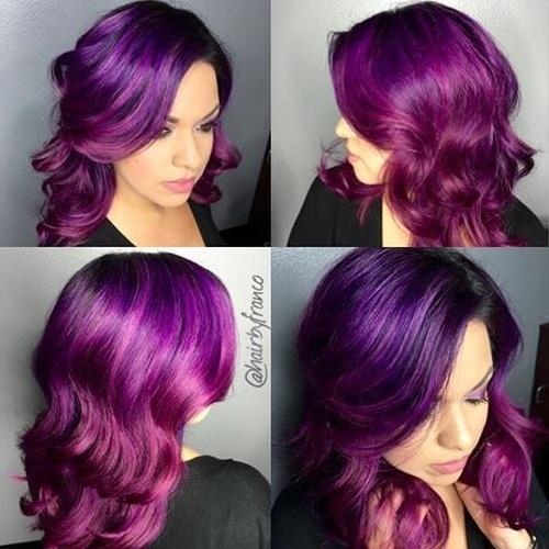 Deep Lavender Hair Dye