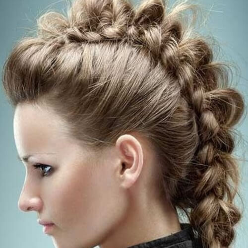 Knotted and Braided Mohawk