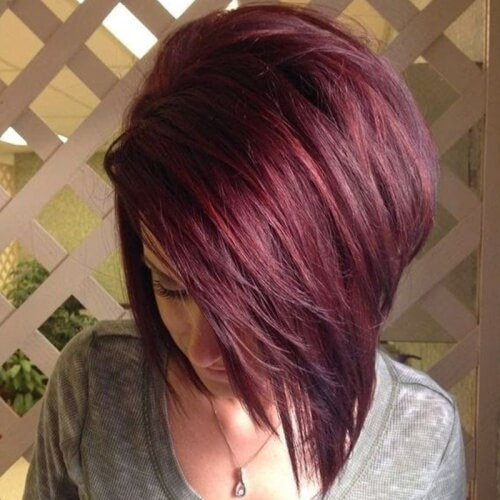 Light Black Cherry Hair