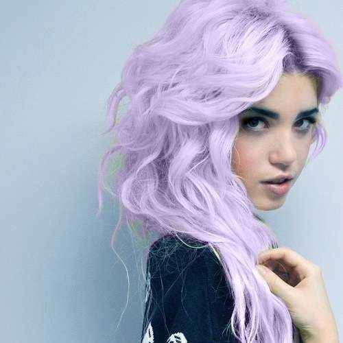 Light Lavender Hair
