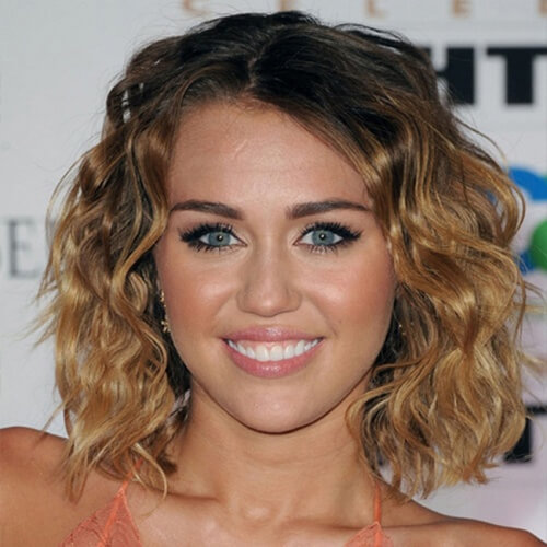 Beach Waves Miley Cyrus Haircut