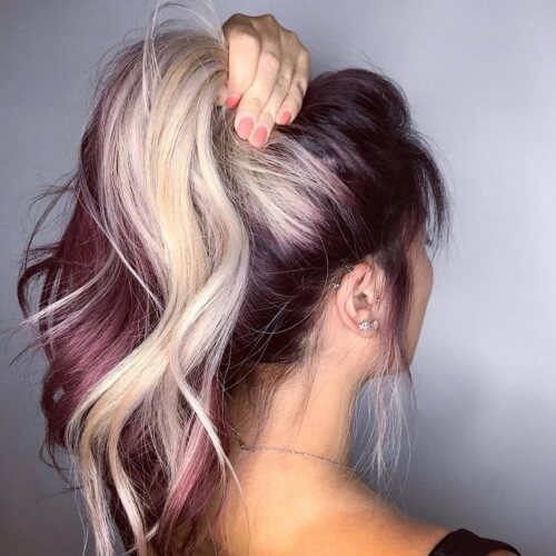 Two Tone Hair Ideas