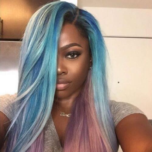 Pastel Two Tone Hair