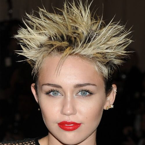 Punk Miley Cyrus Haircut