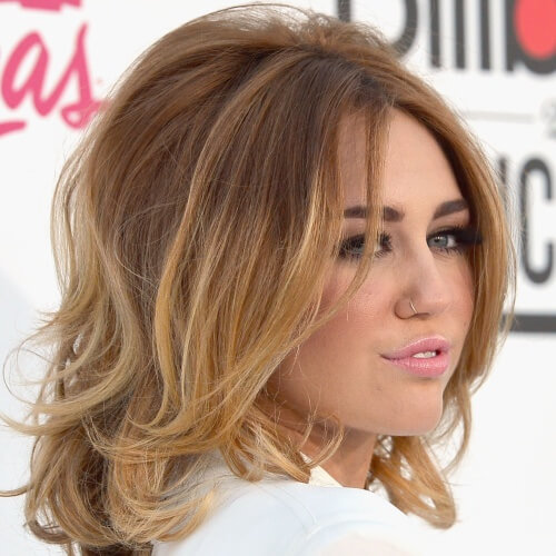 Retro Miley Cyrus Haircut