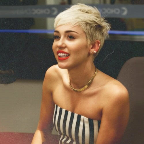 Short Miley Cyrus Haircut