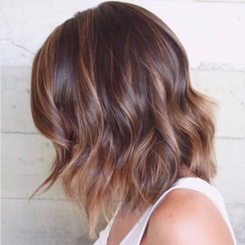 Two Tone Hair Color Ideas for Medium Length Hair