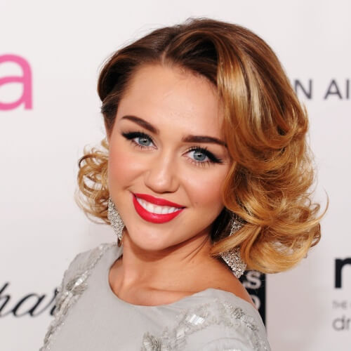 Vintage Miley Cyrus Haircut