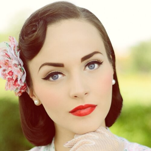1950s Pageboy Hairstyle