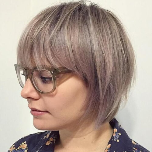 A-line Pageboy Haircut