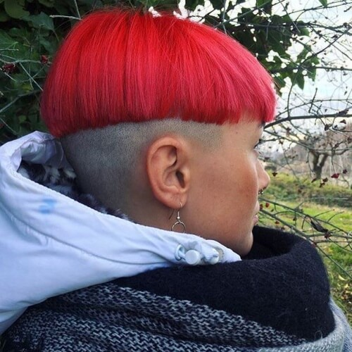 Flashy Pageboy Haircut