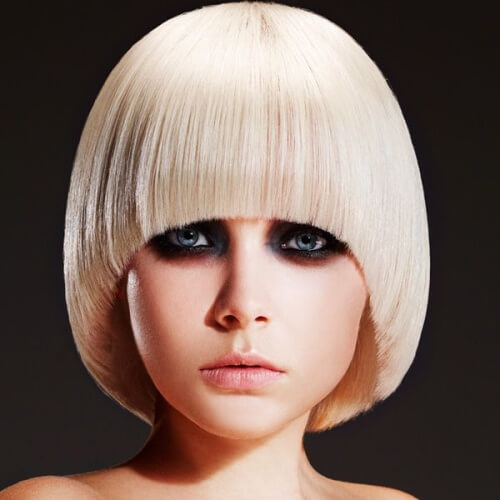 High Fashion Pageboy Hairstyle
