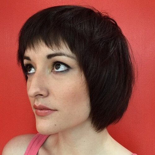 Layered Pageboy Haircut