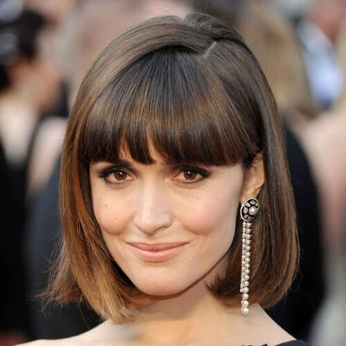 Long Bob Pageboy Hairstyle