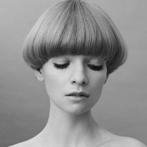 Mushroom Pageboy Haircut