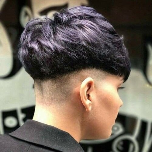 Pageboy Haircut with Undercut