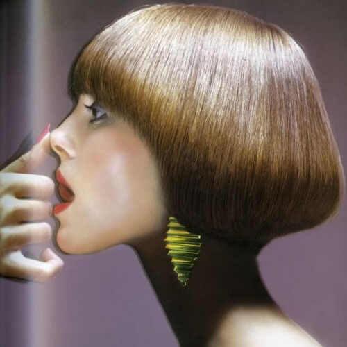 Shaped Pageboy Hairstyle