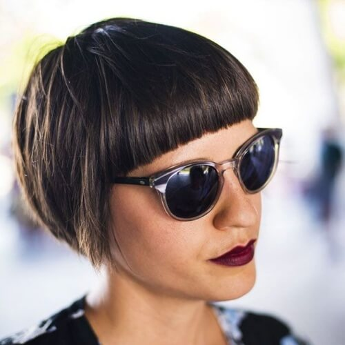Super Short Pageboy Haircut