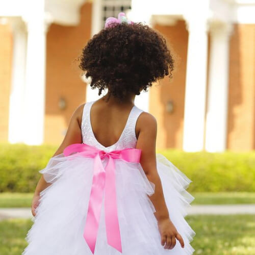 afro flower girl hairstyles