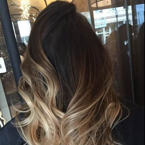 blonde brown ombre hair