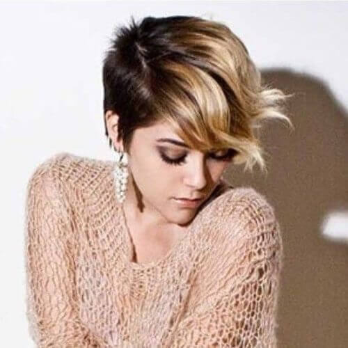 short brown ombre hair