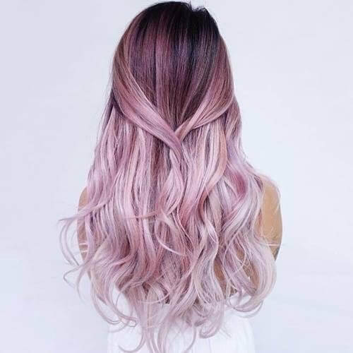 Lavender Fairy Hair color for summer
