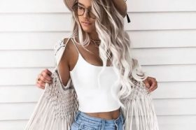 extreme blonde hair color for summer