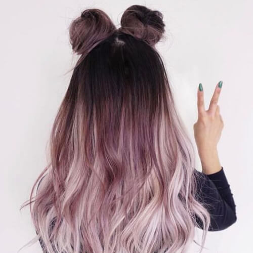 grape hair color for summer