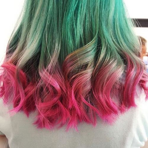 watermelon hair color for summer
