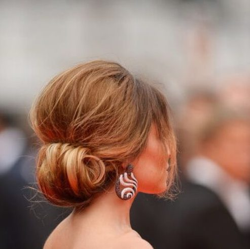 Cheryl Cole attends the Foxcatcher premiere during the 67th Annual Cannes Film Festival on May 19, 2014 hairstyles for wedding guest