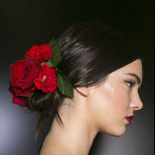 Dolce & Gabbana Hair hairstyles for wedding guest
