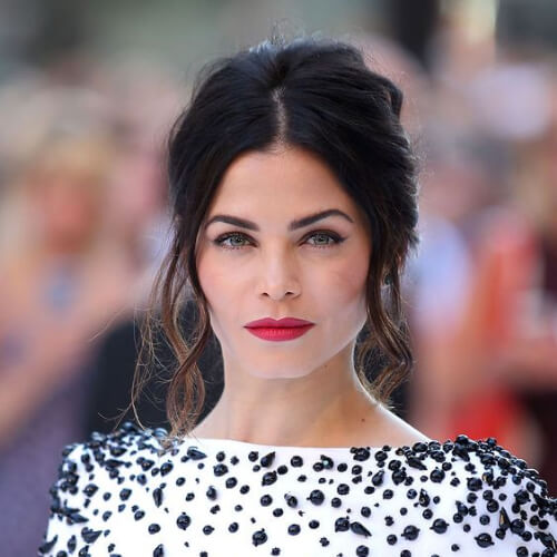 Jenna Dewan hairstyles for wedding guest