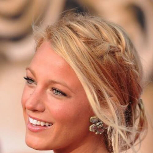 blake lively hairstyles for wedding guest