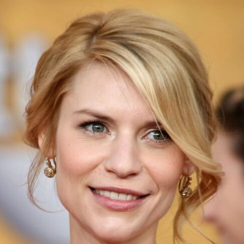 claire danes hairstyles for wedding guest