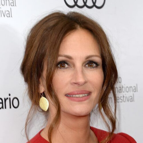 julia roberts hairstyles for wedding guest