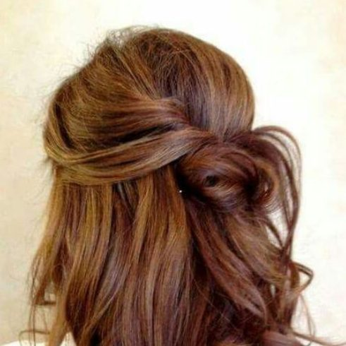 knot hairstyles for wedding guest