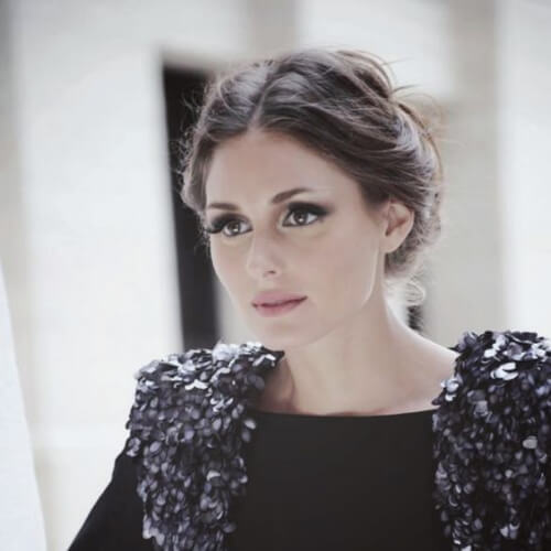 olivia palermo hairstyles for wedding guest