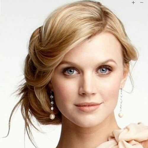 pretty hairstyles for wedding guest
