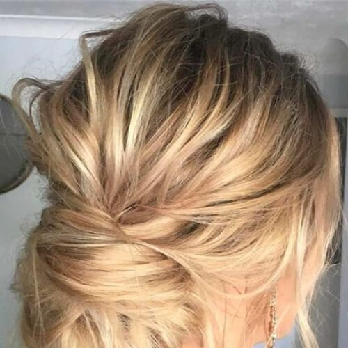 trendy hairstyles for wedding guest