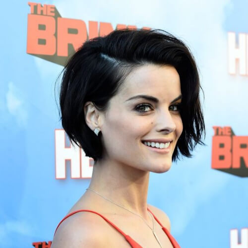 Jaimie Alexander short straight hairstyles